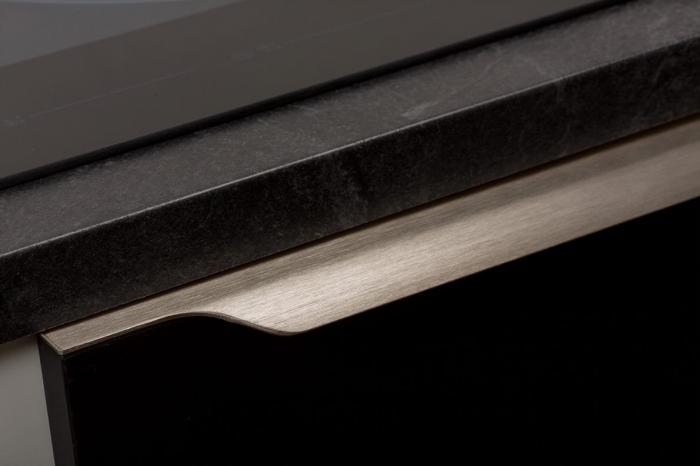 Maner pentru mobila Vector, finisaj otel inoxidabil, L:247 mm [4]