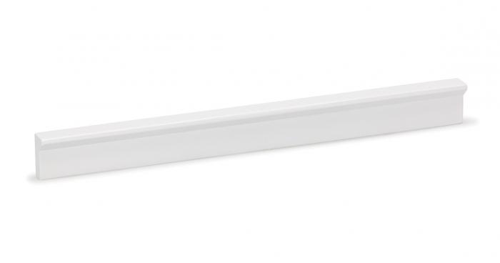 Maner pentru mobilier Angle, finisaj alb mat, L 600 mm 0