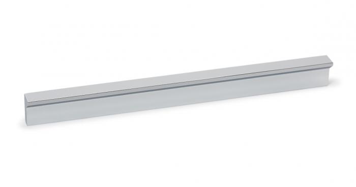 Maner pentru mobilier Angle, finisaj crom lucios, L 200 mm [0]