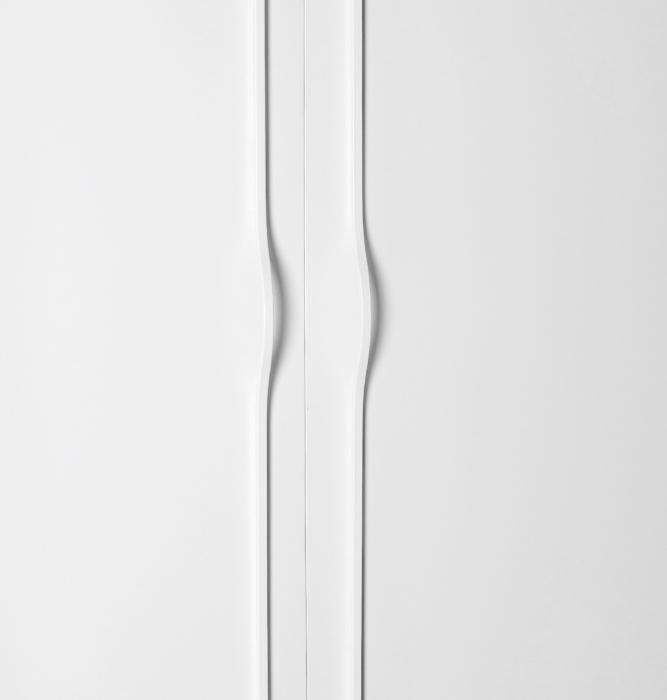 Maner pentru mobilier Brave, alb mat, L 1150 mm 0