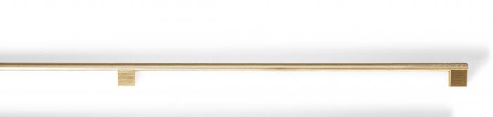 Maner pentru mobilier Graf Mini Long, finisaj alama intunecata periata, L: 1200 mm 2