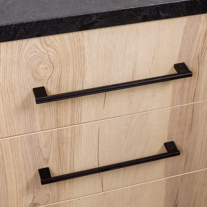 Maner pentru mobilier Graf2 negru, L= 182 mm 1