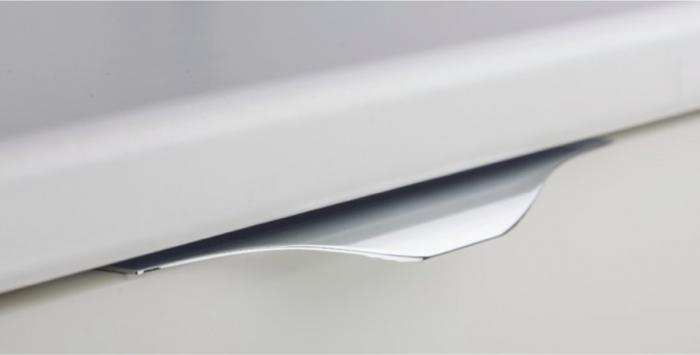 Maner pentru mobilier Noma, anodizat luminos, L: 350 mm 0