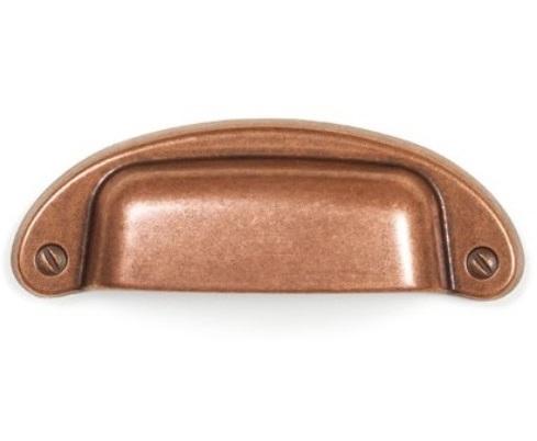 Maner pentru mobilier Petra, cupru antichizat, L: 97 mm [0]