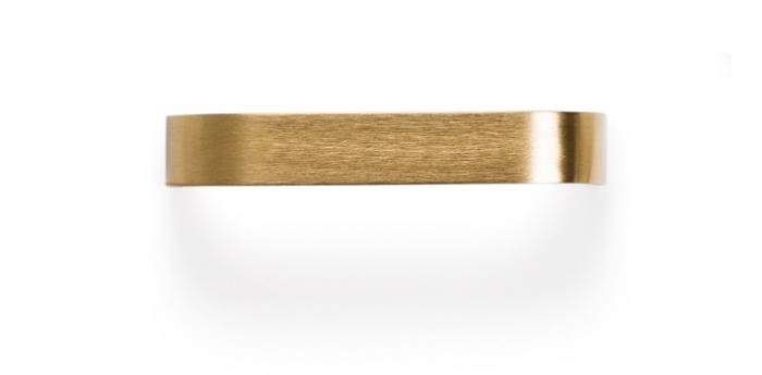 Maner pentru mobilier Sense Mini L:103 mm finisaj alama intunecata periata 2