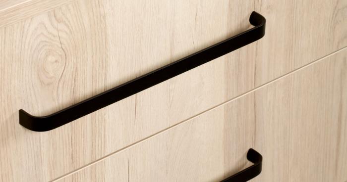 Maner pentru mobilier Sense Mini, negru mat, L: 263 mm 0