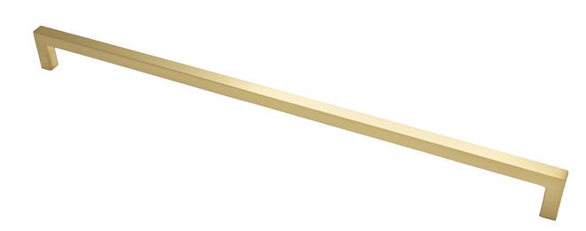 Maner pentru mobilier U, alama periata, L: 500,5 mm 0