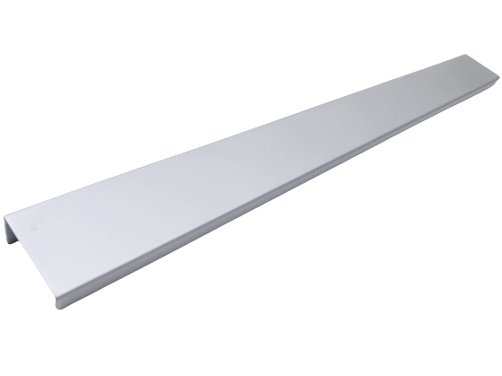 Maner pentru mobilier Way, finisaj aluminiu, L:800 mm 0