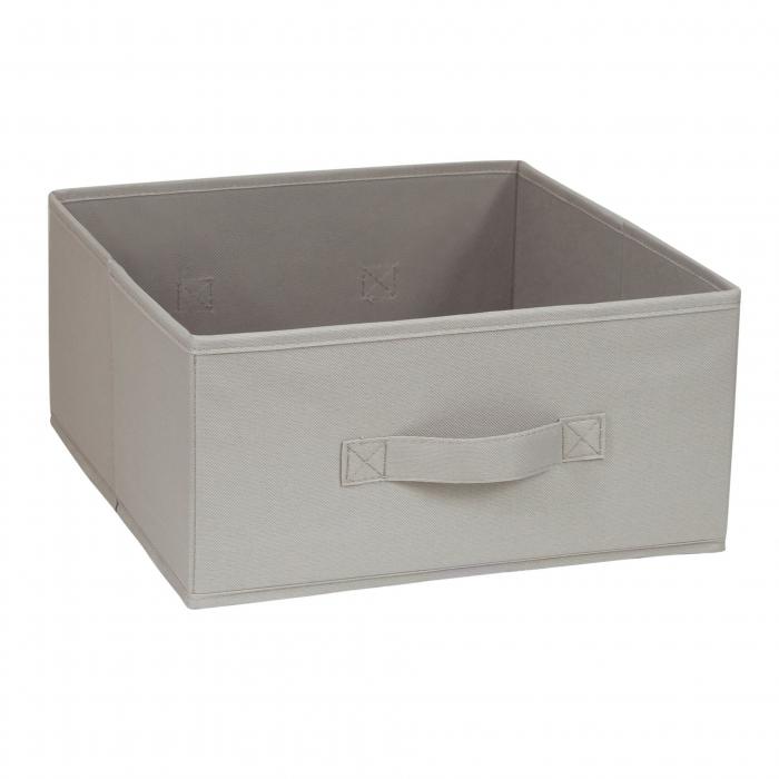 Organizator pentru dulap sau sertar 31x31x15 cm , bej 0