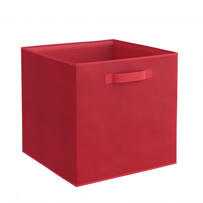 Organizator pentru dulap sau sertar 31x31x31 cm, rosu 0