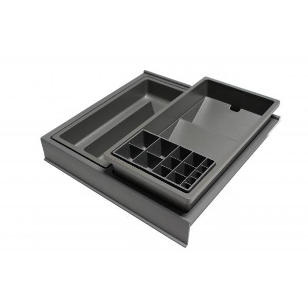 Organizator sertar pentru produse de machiaj ,tip VL , gri orion, 350 mm 0