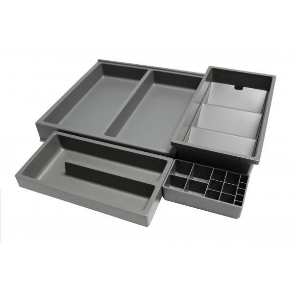 Organizator sertar pentru produse de machiaj ,tip VL , gri orion, 350 mm 1