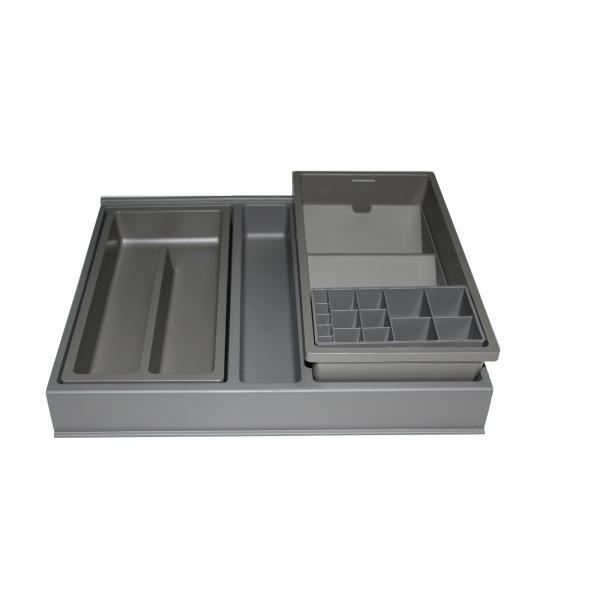 Organizator sertar pentru produse de machiaj ,tip VL , gri orion, 400 mm 1