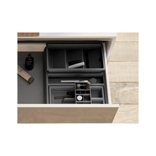 Organizator sertar pentru produse de machiaj ,tip VL , gri orion, 400 mm 3