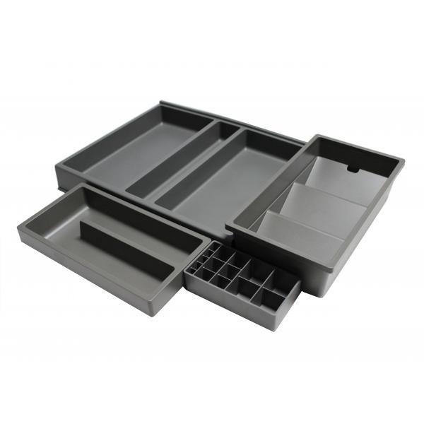 Organizator sertar pentru produse de machiaj ,tip VL , gri orion, 400 mm 2