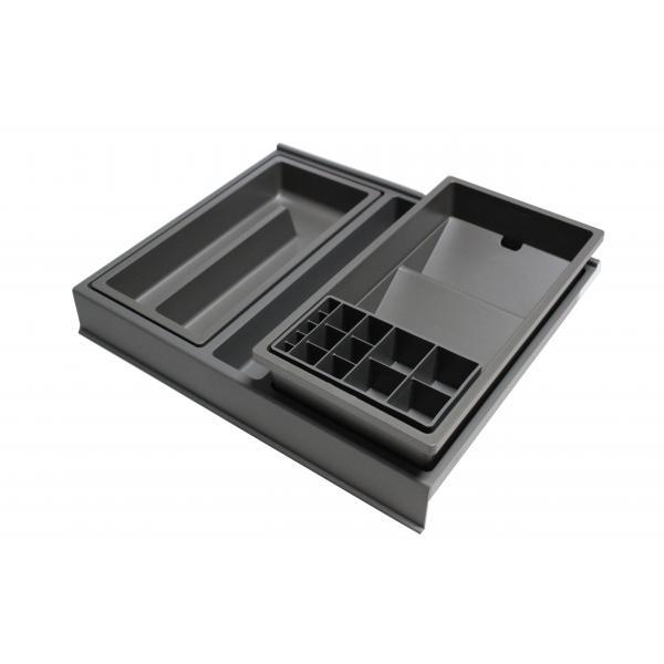 Organizator sertar pentru produse de machiaj ,tip VL , gri orion, 400 mm 0