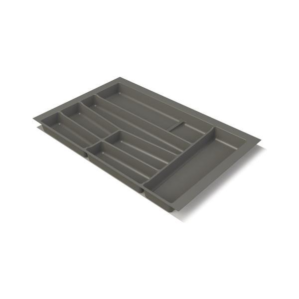 Suport organizare tacamuri, gri grafit, pentru latime corp 800 mm, montabil in sertar de bucatarie 1