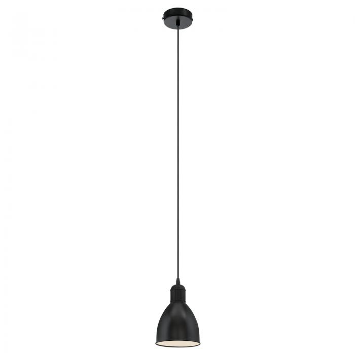 Pendul vintage finisaj negru diametru 155 mm 0