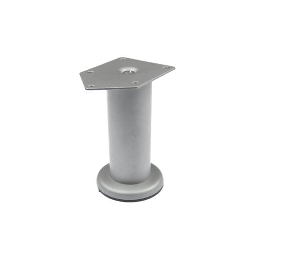 Picior cilindric D42 mm, H:200 mm finisaj gri satinat 0