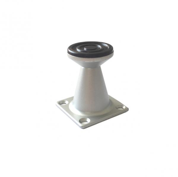 Picior metalic pentru mobilier H:50 mm finisaj aluminiu 1