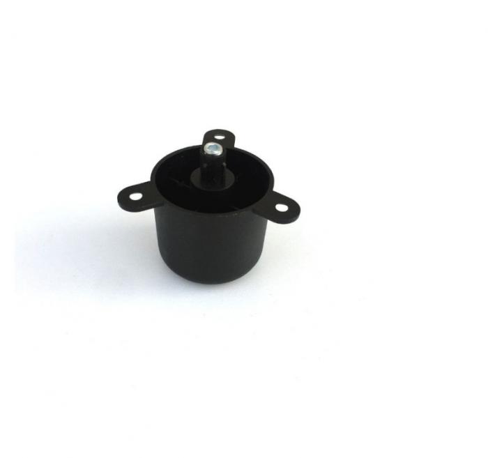 Picior negru reglabil pentru mobilier D 48 mm, H 44 mm 1