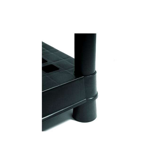 Raft cu 5 polite pentru organizare si depozitare, 90 x 40 x182 cm 2