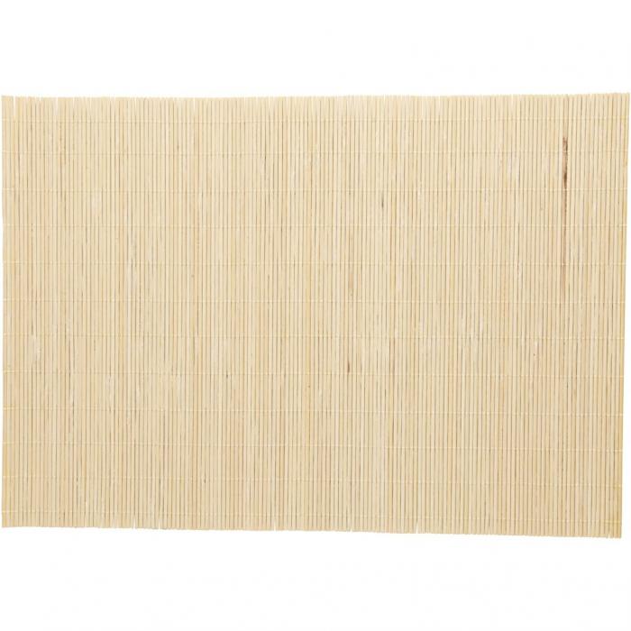 Servet de masa din bambus, set 6 bucati 1