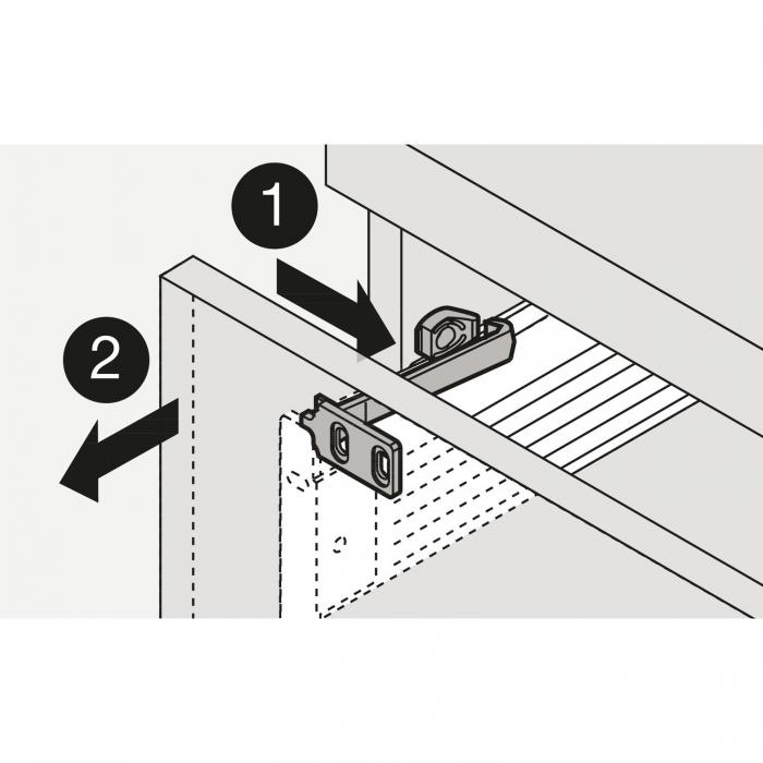 Siguranta de protectie pentru sertare si usi de dulap [1]