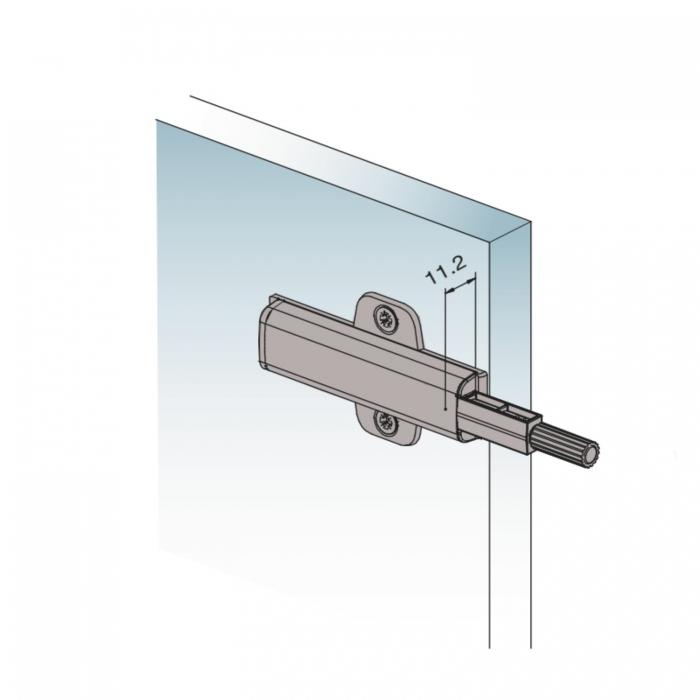 Sistem de deschidere pentru usi, push to open 3