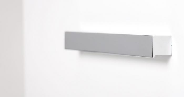 Maner pentru mobila Step, finisaj crom lucios, L:250 mm [1]