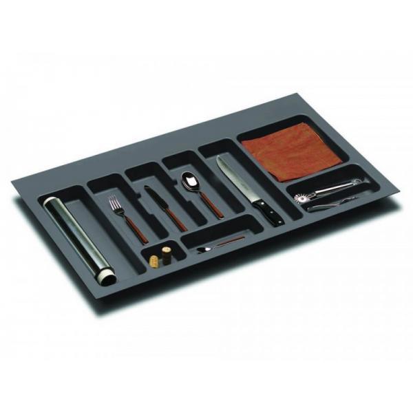Suport organizare tacamuri, gri orion, pentru latime corp 900 mm 1