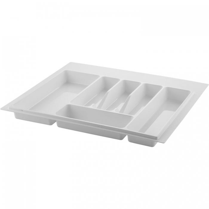 Suport organizare tacamuri, alb, pentru corp de 600 mm latime [0]