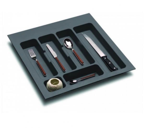 Suport organizare tacamuri, gri orion, pentru latime corp 500 mm 0