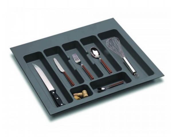 Suport organizare tacamuri,gri orion, pentru latime corp 600 mm 0
