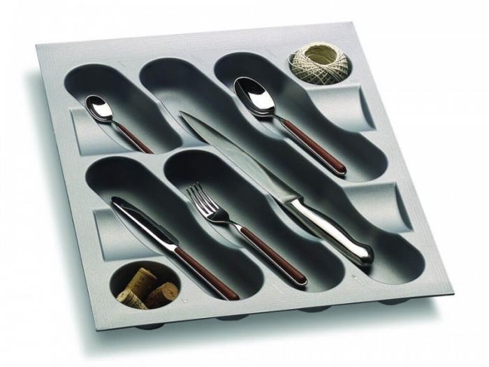 Suport organizare tacamuri pentru latime corp 450 mm, montabil in sertar bucatarie 0