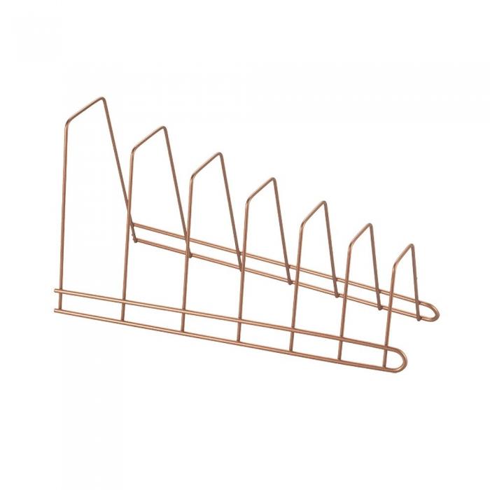 Suport pentru capace si tocatoare bucatarie Cricket Copper, finisaj cupru [1]
