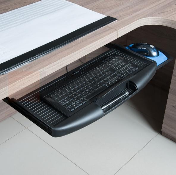Suport pentru tastatura si mouse, negru 1