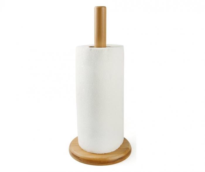Suport rola hartie, bambus 0