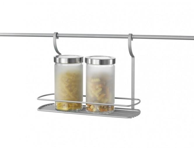Suport suspendat pentru recipiente si accesorii bucatarie 0