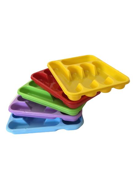 Suport tacamuri pentru sertar, galben 2