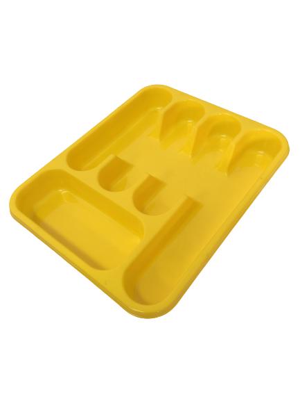 Suport tacamuri pentru sertar, galben 0