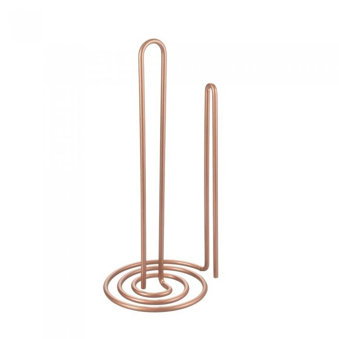 Suport rola sau prosop hartie pentru bucatarie My Roll Copper, vertical, cupru [1]