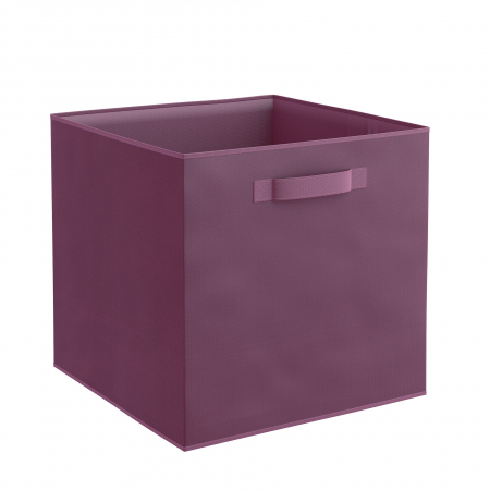 Organizator pentru dulap sau sertar 31x31x31 cm, violet0
