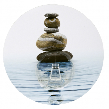 Agatatoare cuier autoadeziva meditation, Uno Hook0