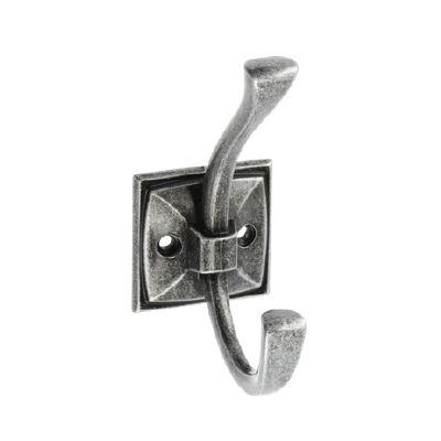 Agatatoare cuier MADRYT, finisaj argint antichizat0