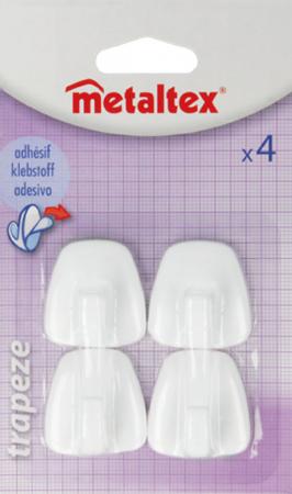 Agatatori cuier autoadezive din plastic, set 4 bucati1