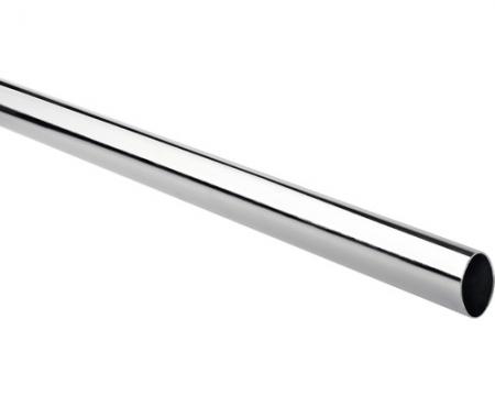 Bara pentru umerase ovala 30x15 mm, crom lucios,  lungime 89 cm0