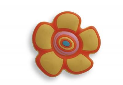 Buton copii floare galbena0