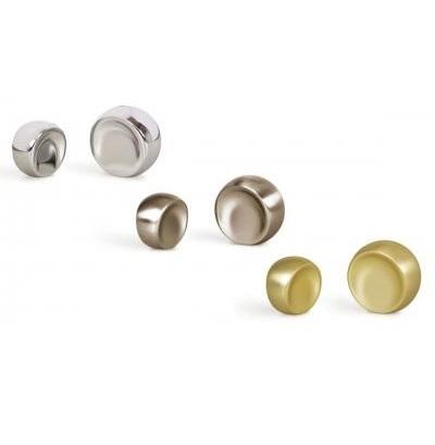 Buton pentru mobilier Ball nichel periat D:23.3 mm2