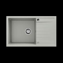 Chiuveta cu blat dreapta/stanga gri deschis 80 cm/49 cm (228)1